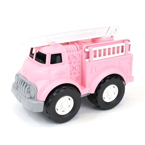 GreenToys Fire truck - pink