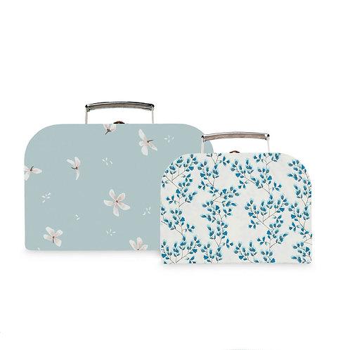 Camcam - Koffersetje set van 2 windflower blue.fiori