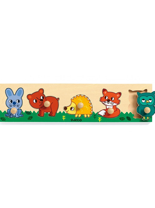 Djeco - Classic puzzle - Forest'n'co