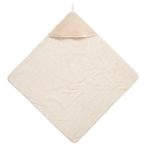 Omslagdoek teddy Vik sand
