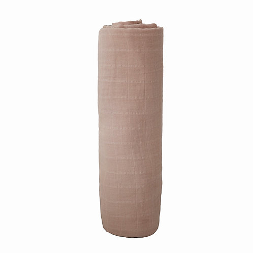 Mushie SWADDLE - Pale Taupe