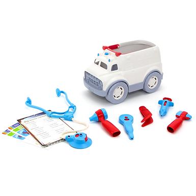 GreenToys Ambulance and Doctor's Kit