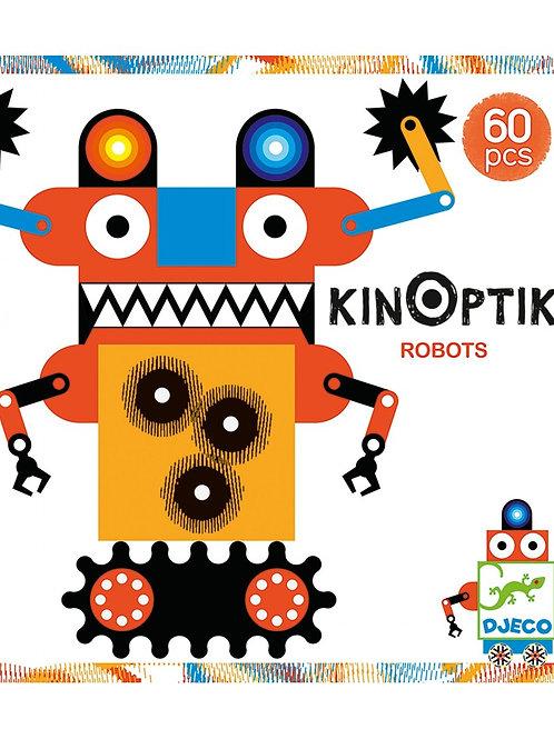 Djeco - KINOPTIK - Robots 60 pcs