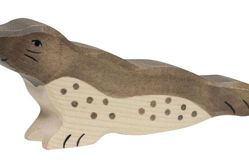 Holztiger Zeedieren - ZEEROB kop omhoog