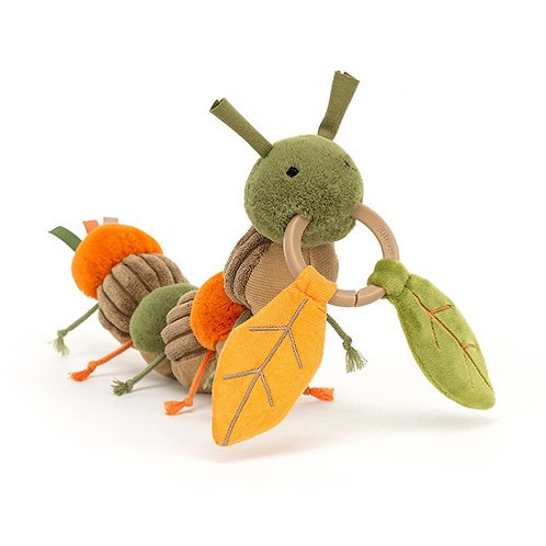 Jellycat - Christopher Caterpillar Activity Toy