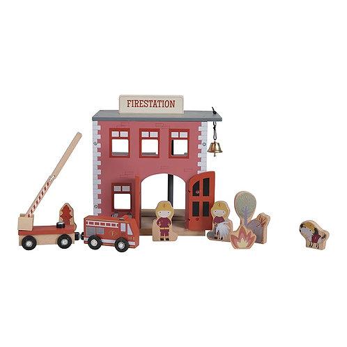Little Dutch - Treinbaan uitbreiding - brandweerkazerne
