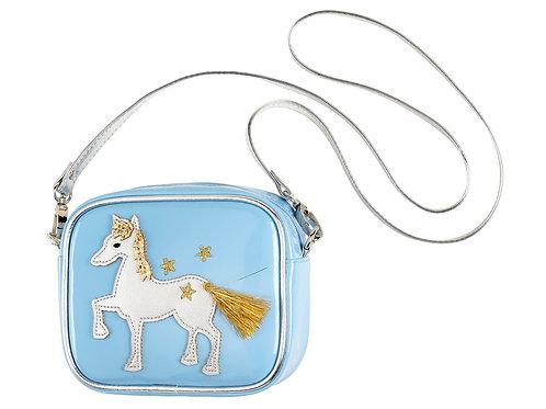 Tas Marith paard, blauw