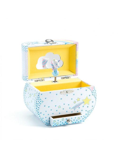 Djeco - MUSICAL BOX - Unicorns's dream