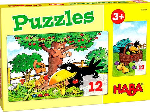 Haba - Puzzels - Boomgaard