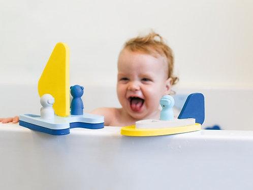 Quutopia Sail Away bath puzzle