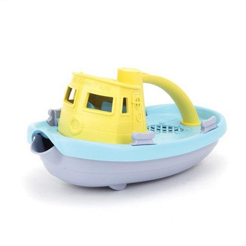 GreenToys Tugboat - Yellow Top