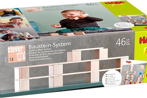 Haba - Blokken - Bouwsteensysteem Clever-Up! 1.0 (46 delen)