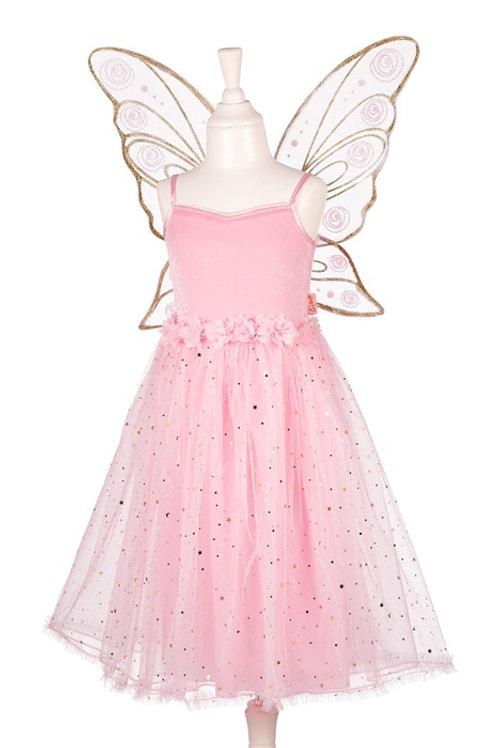 Souza - Rosyanne jurk + vleugels l.roze, 5-7 jaar, 110-122 cm