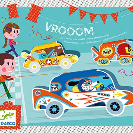 Djeco - BIRTHDAY GAME - Vrooom