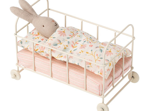 Maileg Baby cot metal, Micro