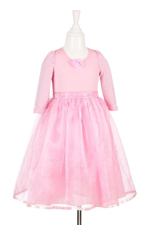 Souza - Aline jurk, roze, 5-7 jaar/ 110-122 cm