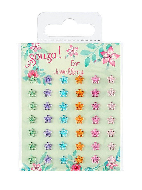 Ear stickers flowers