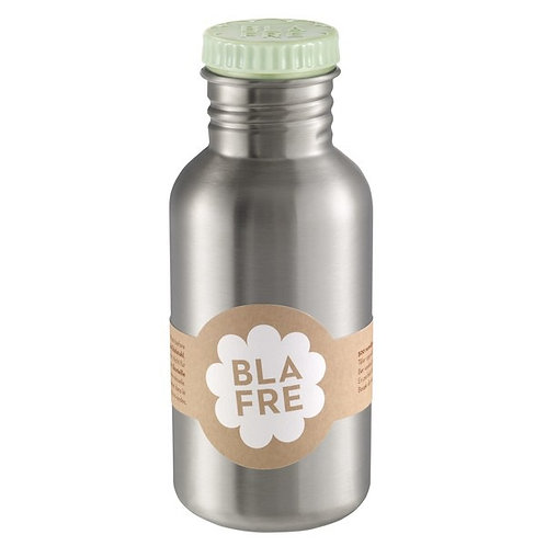 Blafre stainless steel bottle 500ml light green