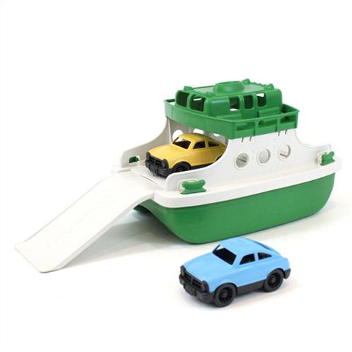 GreenToys Ferry boat green/white