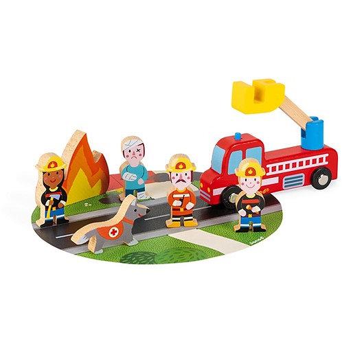 Janod Story - Brandweer Set