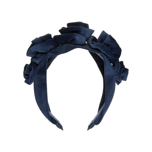 VELVET ROSETTE STATEMENT ALICE