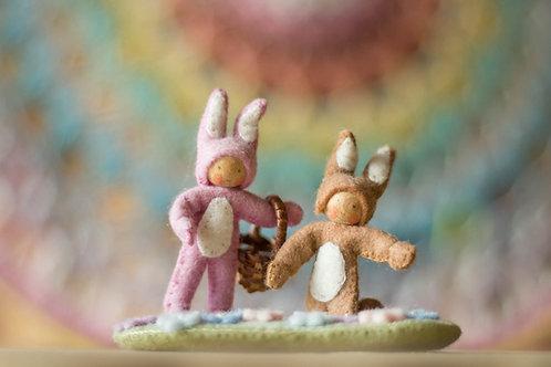 Atelier Pippilotta - Twee paashaasjes