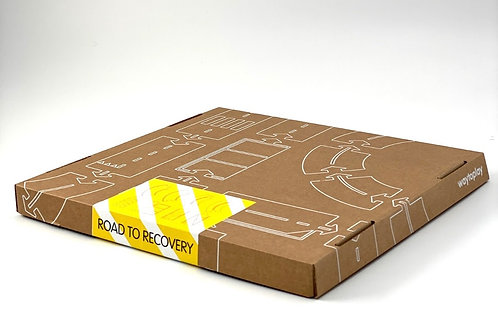 waytoplay Road to Recovery cardboard toy road