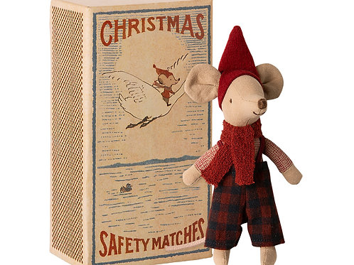 Christmas mouse in box - Big brother