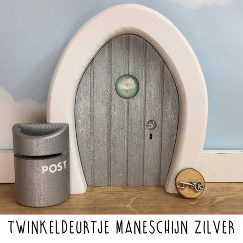 Droomdeurtjes - Twinkeldeurtje Maneschijn Zilver