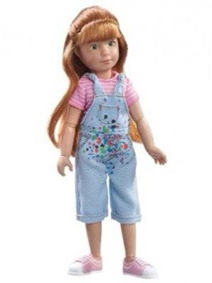 Käthe Kruse Kruselings Sofia Chloe a Gifted Painter - Doll Set