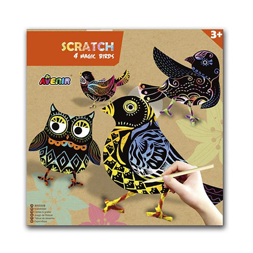 Avenir Scratch: ART / MAGISCHE VOGEL