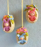 Atelier Pippilotta - Drie paashaasjes in een ei