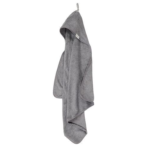 Koeka Badcape Dijon organic steel grey, 100x100
