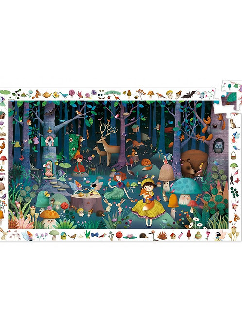 Djeco -OBSERVATION PUZZLE - Enchanted Forest