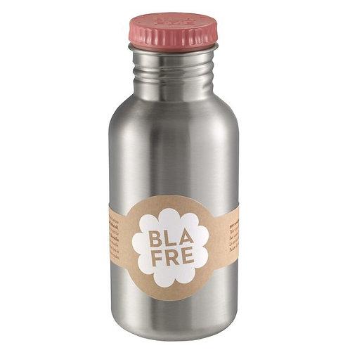 Blafre stainless steel bottle 500ml pink