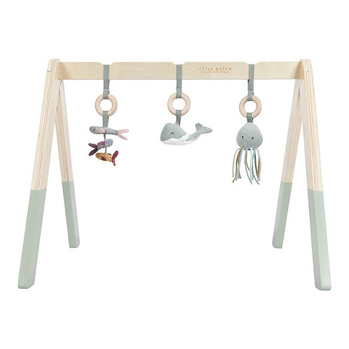 Little Dutch Houten babygym - Ocean Mint