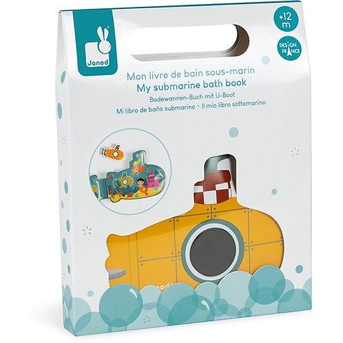 Janod Badspeelgoed - Badboek Mijn Duikboot