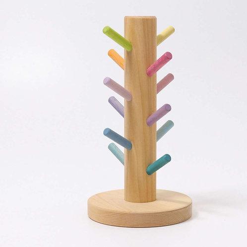 Grimm's - Sorting Helper Building Rings Pastel