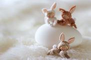 Atelier Pippilotta - Drie konijntjes