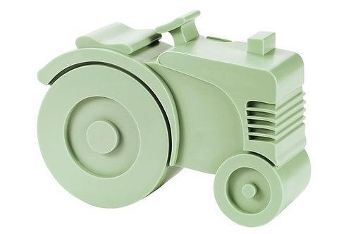 Blafre lunch box 2 compartimenten tractor light green