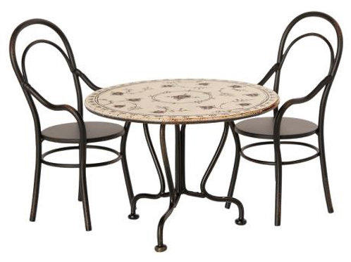 Maileg - DINING TABLE SET W. 2 CHAIRS