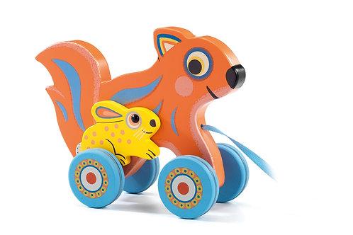 Djeco - Pull along toy - Max & Ola