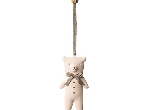 Ornament Teddybear, Metal