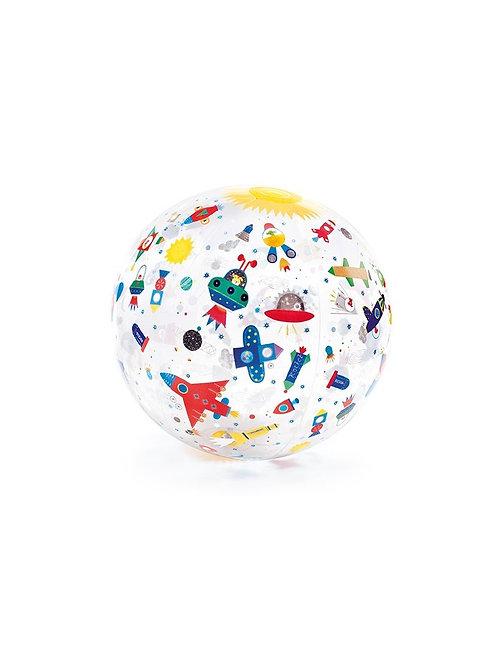 Djeco - INFLATABLE BALL - Space ball