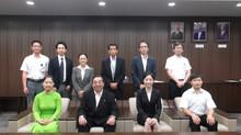東広島市国際化推進協議会「私費留学生市奨学金」奨学生決定通書授与式