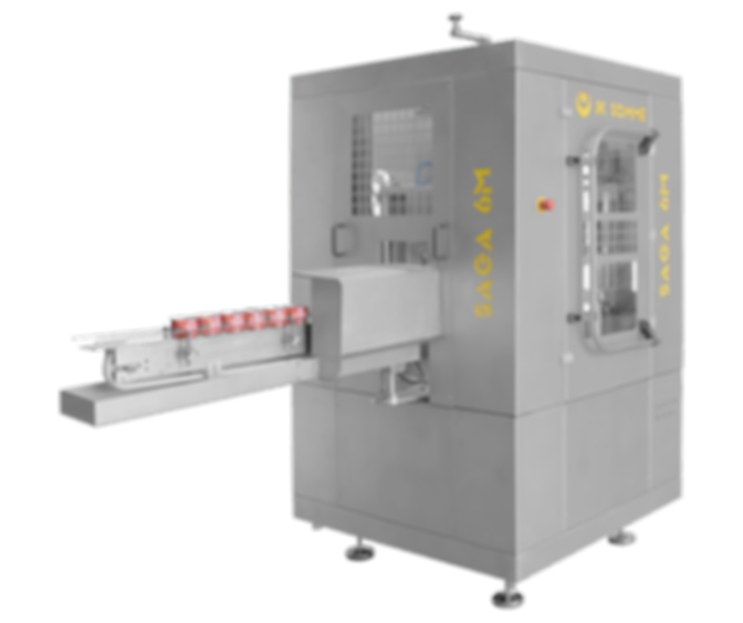 saga m automatic can seaming machine