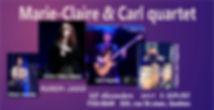 annonce Marie-Claire & Carl quartet.JPG