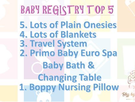 Baby Registry Top 5