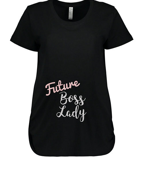 Future Boss Lady maternity tee