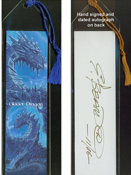 Glacier Dragon Bookmark